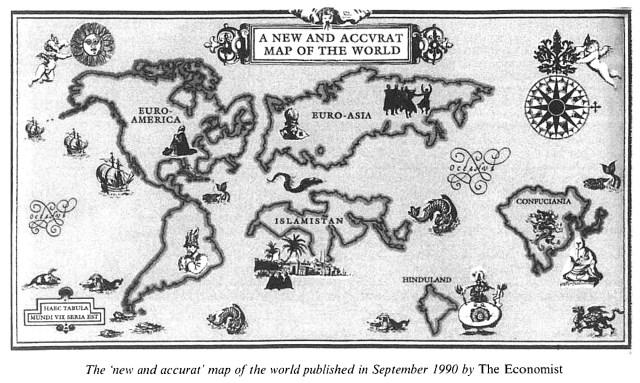 Economist map