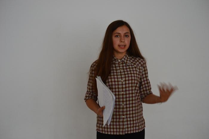 Bianca Pintilie despre echipă – pentru workshopul Toastmasters