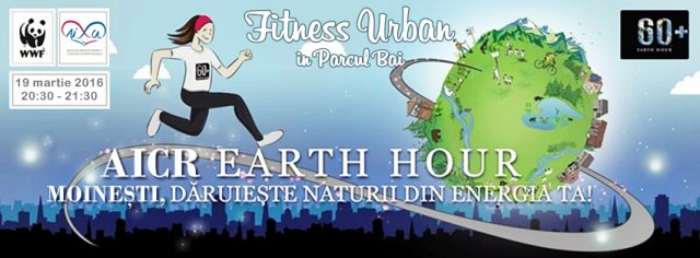 earthhour ora pamantului 2016 aicr moinesti fitness urban in aer liber