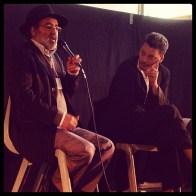 Ahmed Lrhziel (Radio Soleil) et Tarek Kawtari (MIB)