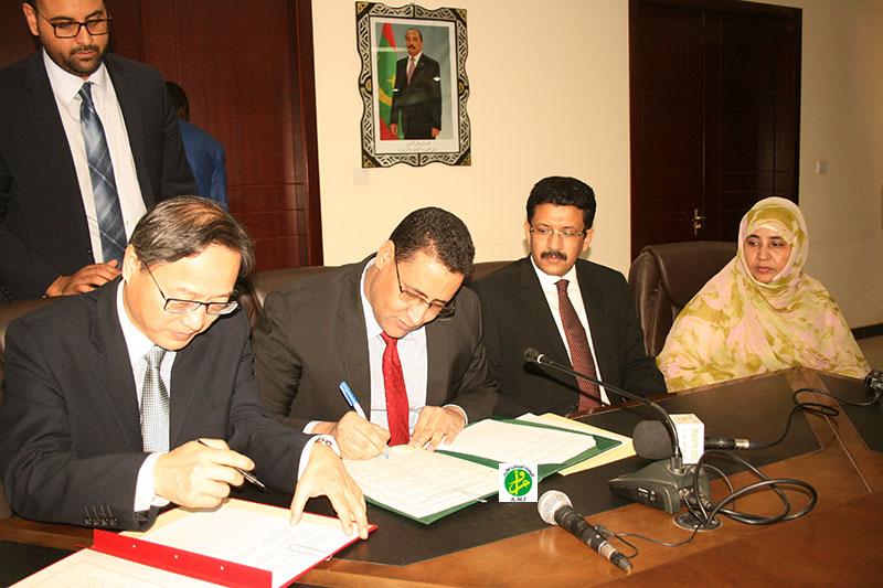 Chine/Mauritanie : 300 millions de yuan pour construire un échangeur à Nouakchott et renforcer les équipements de l'aéroport Oum Tounsy