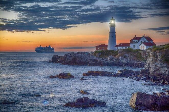 Portland Head Light in Portland, Maine