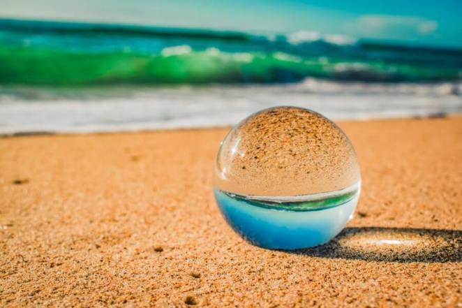 The Crystal Ball on a Sand