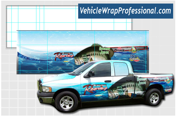 How to Design a Vehicle Wrap in Photoshop Without a Template-Revisited