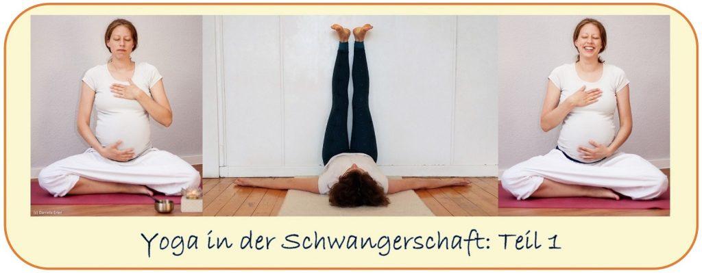 Yoga Schwangerschaft worauf achten 1. trimester