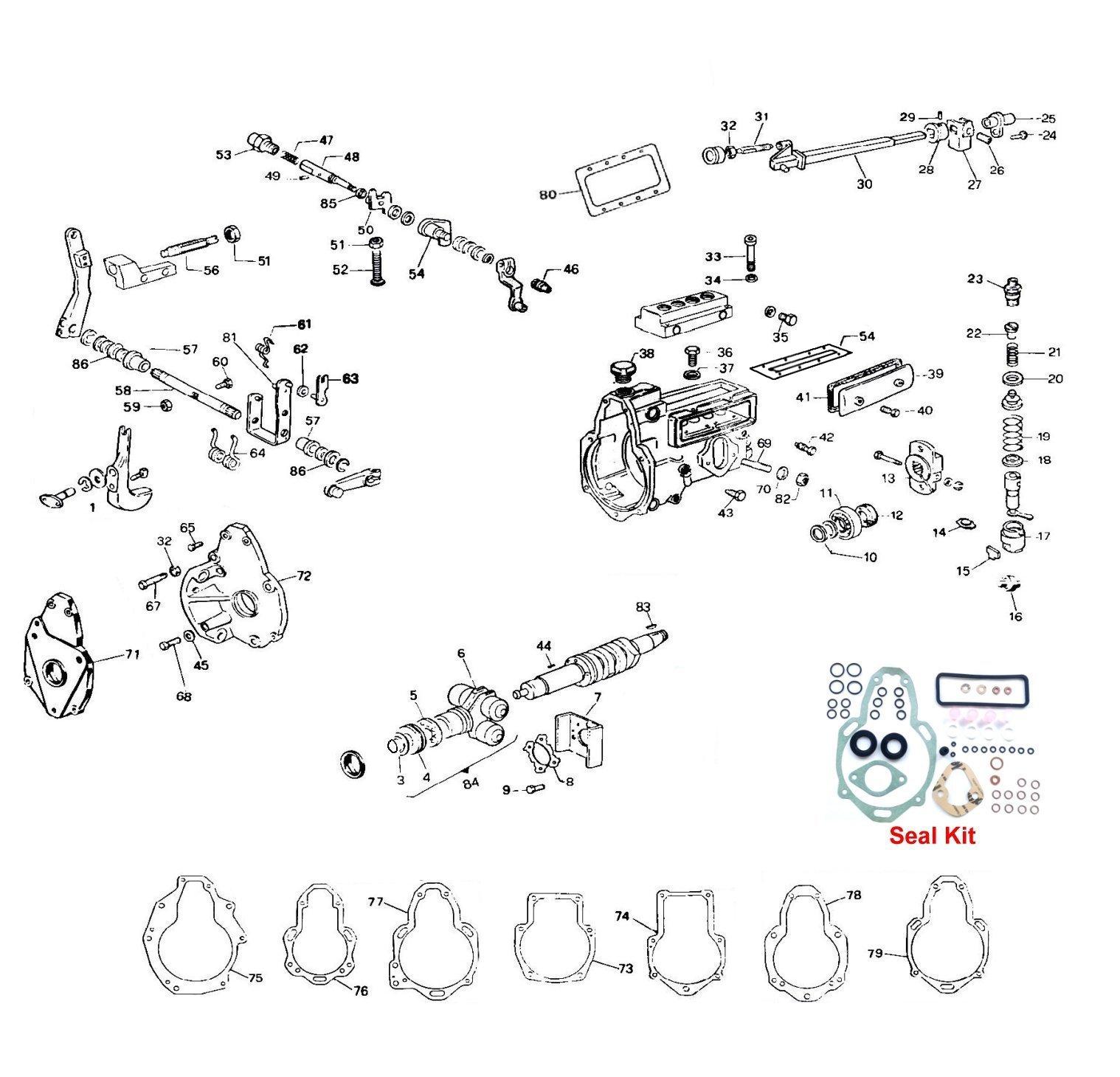 Simms Cav Minimec Interactive Parts Diagram