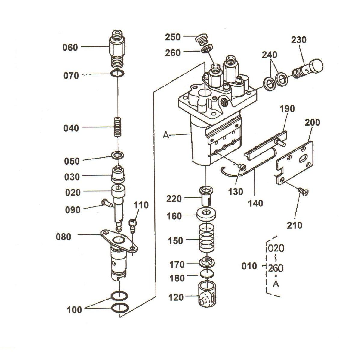 Overhaul Repair Kit For Kubota H 3 Cylinder