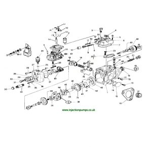 Exploded diagrams  Diesel Injection Pumps