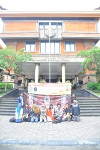 Kunjungan BPN ISMKI di Universitas Udayana. Welcome to Bali friends!