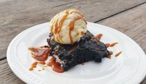 Double Dark Guinness Chocolate Sheet Cake