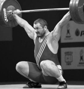 Bearded Weightlifter