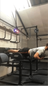Glute ham raise with weight
