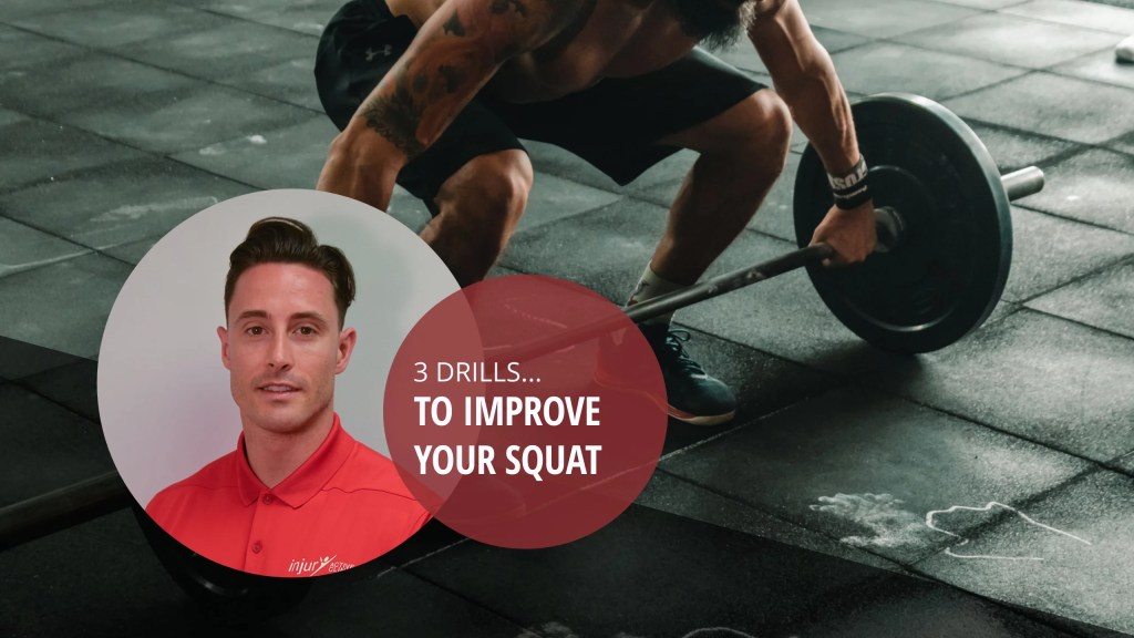 Squat mobility – 3 mobility drills to improve your squat