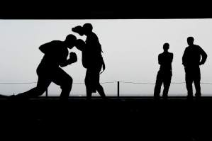 boxing in the shadows