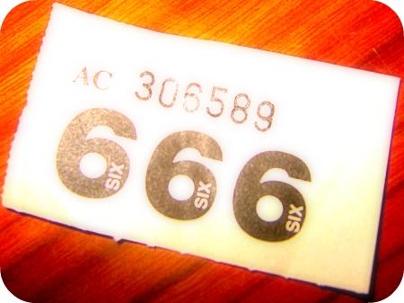 raffle ticket of the beast