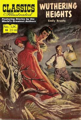 Classics Illustrated edition of Wuthering Heights, 1940s