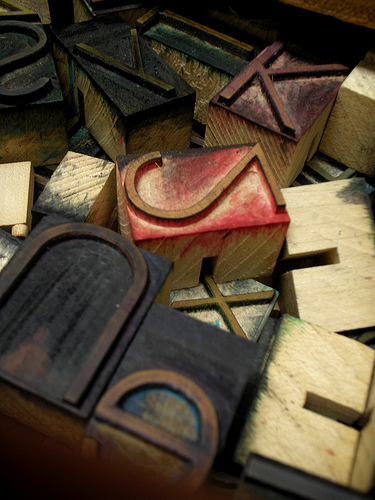 CCBP Futura wood type