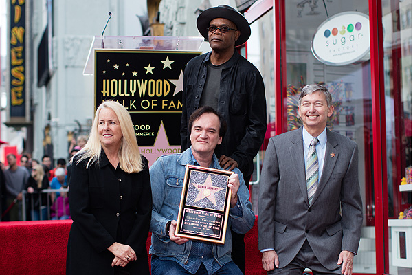 Quentin Tarantino Honored With Star On The Hollywood Walk Of Fame