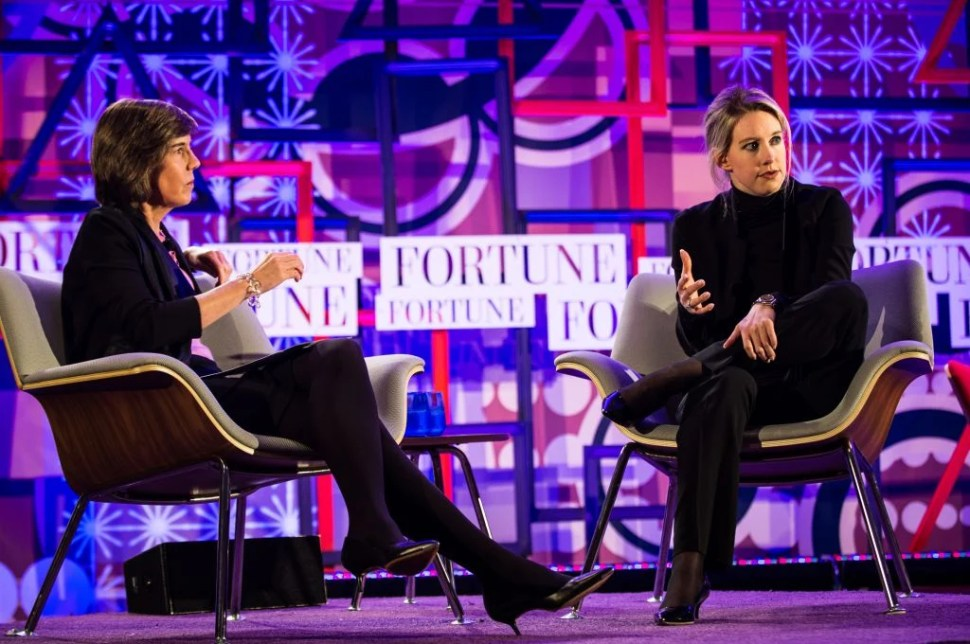 Fortune Most Powerful Women Next Generation  Wednesday, December 3, 2014: San Francisco, CA 2:40 PM CONVERSATION Elizabeth Holmes, Founder and CEO, Theranos Interviewer: To be announced Photograph by Stuart Isett/Fortune Most Powerful Women