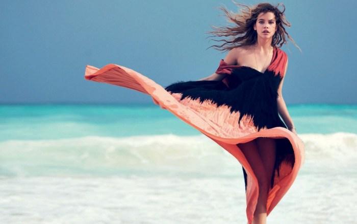 платье пляж