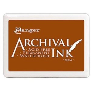 Archival Ink Pad No.0 – Sepia