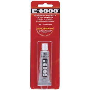 E6000 Multi-Purpose Adhesive – .5oz