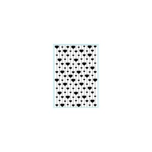 Elizabeth Craft Embossing Folder 4″X6″ – Heart Strings