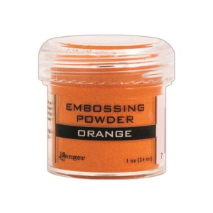 Embossing Powder .56oz Jar – Orange