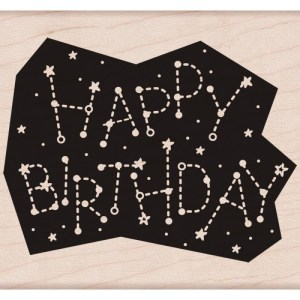 Hero Arts Mounted Rubber Stamps 3.75″X3.25″ – Birthday Constellation