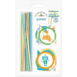 Hip Hip Hooray Pixies & Flags Assortment Pack – Makes Embellishments