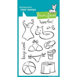 Lawn Fawn Clear Stamps 4″X6″ – Have Fun!