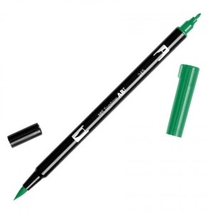 Tombow Dual Brush Marker – 245 Sap Green