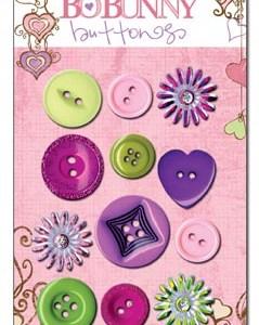 Bo Bunny Smoochable Buttons