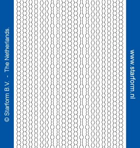 Starform Glitter Stickers 7010 – Red/Gold