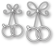 Memory Box Die Precious Wedding Rings