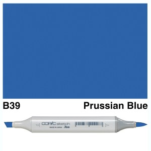 Copic Sketch B39-Prussian Blue