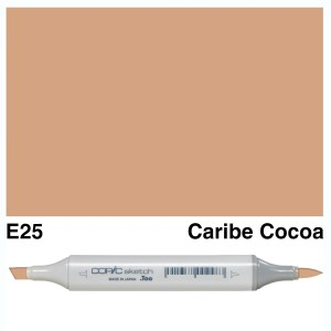 Copic Sketch E25-Caribe Cocoa