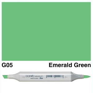Copic Sketch G05-Emerald Green