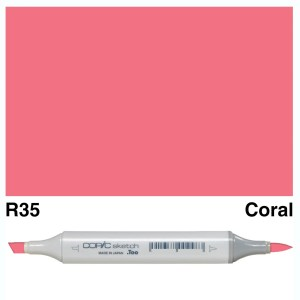 Copic Sketch R35-Coral
