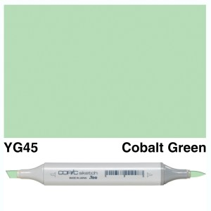 Copic Sketch YG45-Cobalt Green