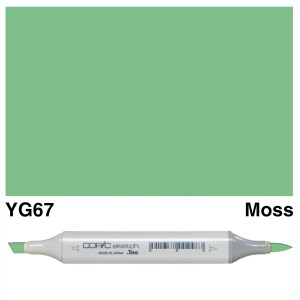Copic Sketch YG67-Moss