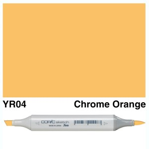 Copic Marker Sketch YR04 Chrome Orange