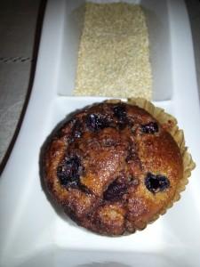 Muffin Quinoa Chip Choclate