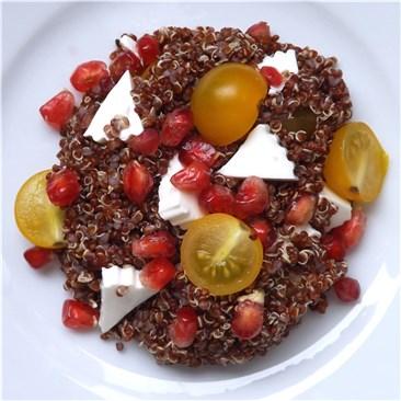 Quinoa Salad and tomatoes