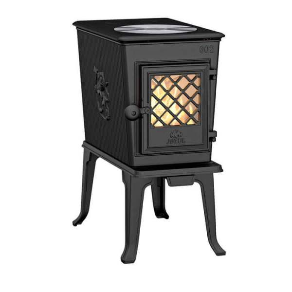 Чунунная печь камин Jotul F 602 ECO BP с плитой - INKAMIN.COM.UA