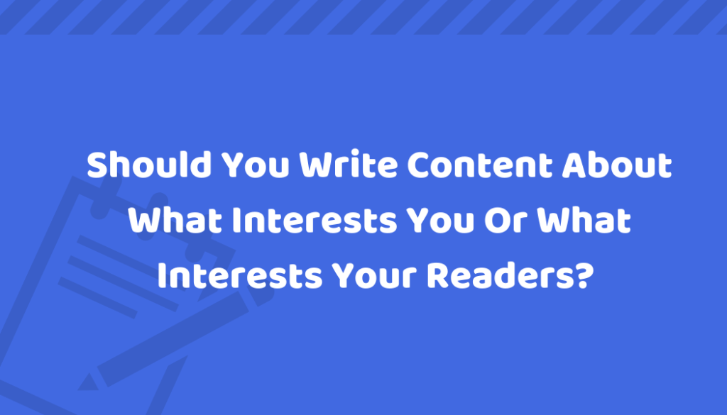 write content online