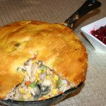Snowy Days, and a Smoked Turkey Pot Pie