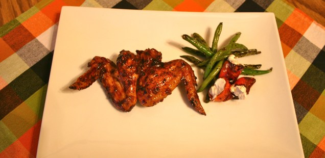 Grilled Bat Wings, Scream Beans, Dancing Spirits Peppers: Black Market Barbecue
