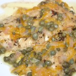 Gettin' Fishy On The Grill: Salt Block Cod with Lemon, Butter, and Caper Sauce