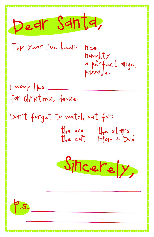santaletter1.jpg 1,950×3,000 pixels Santa letter